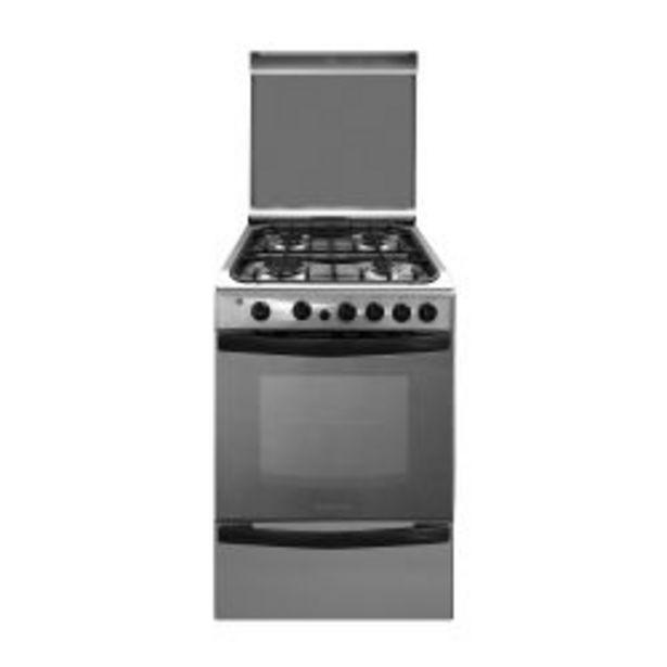 Oferta de Cocina a Gas 55 cm Ariston CG 54S G1H F074863 Inoxidable por $88699