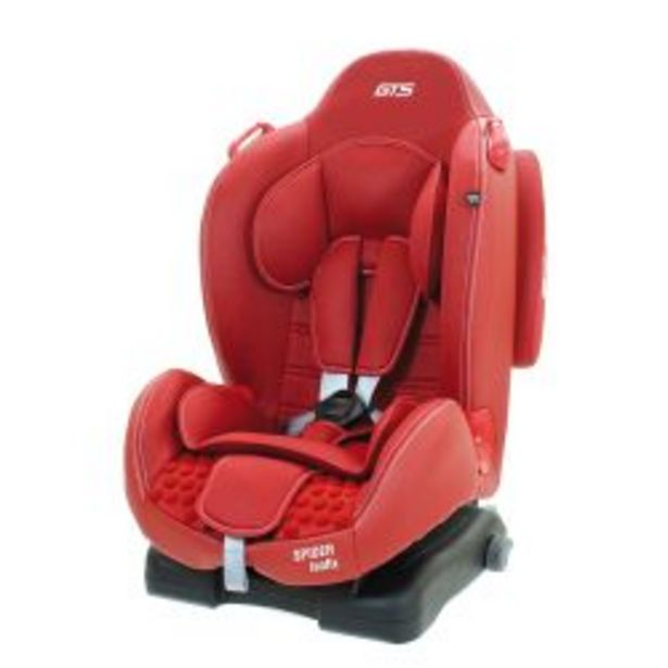 Oferta de Butaca Gts SPIDER ISOFIX  RW Rojo por $22749