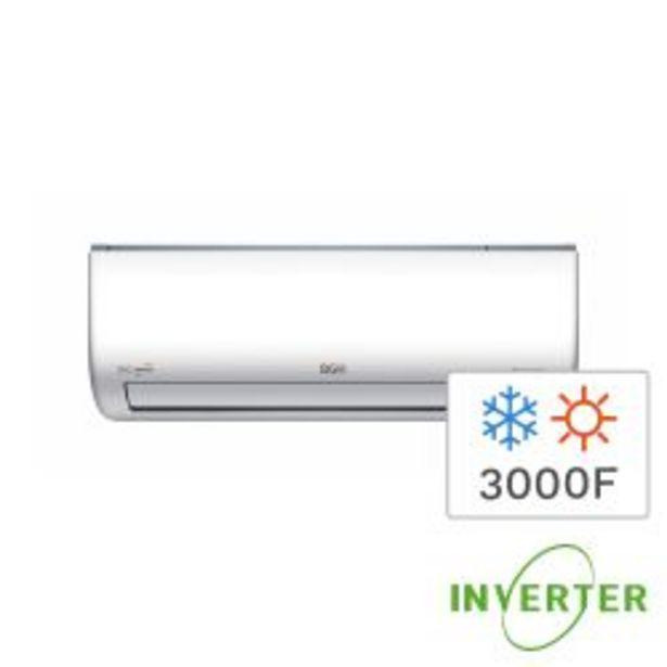 Oferta de Aire Acondicionado Split Frío/Calor BGH Silent Air Tecnología Full Inverter 3DC 3500W BSI35WCDR por $110999