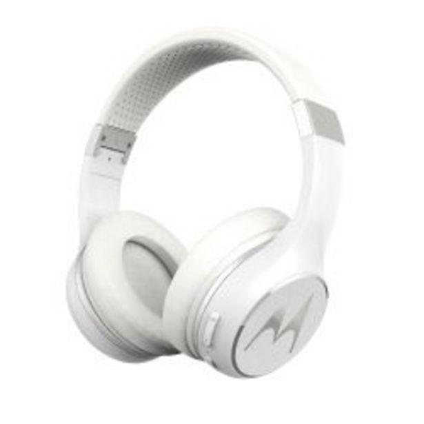 Oferta de Auriculares Bluetooth Motorola Escapade 220 Blancos por $5499