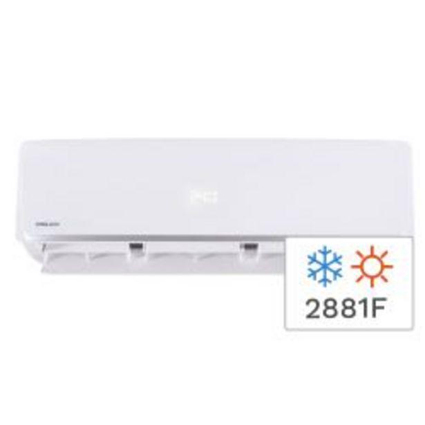 Oferta de Aire Acondicionado Split Frío/Calor Philco 2881F 3350W PHS32HA3AN por $44999