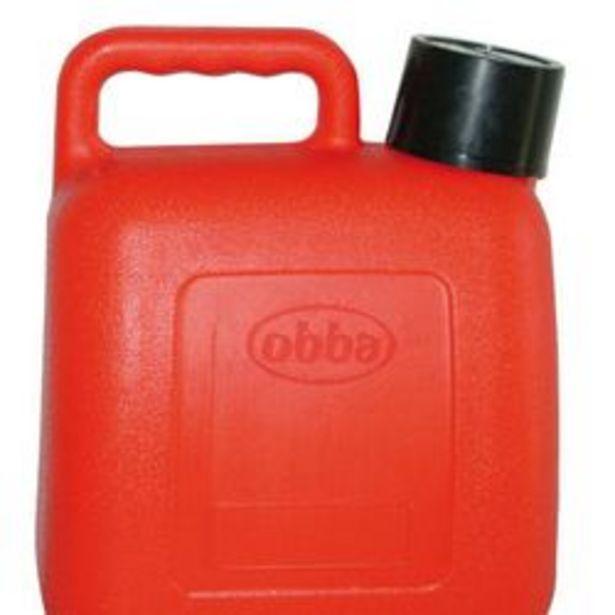 Oferta de Bidon Plastico con Tapa 5 Lts Rojo 1990095 por $2159