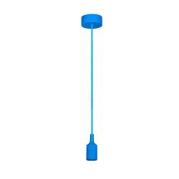 Oferta de Lampara colgante de techo moderna Faroluz 11001 azul por $715
