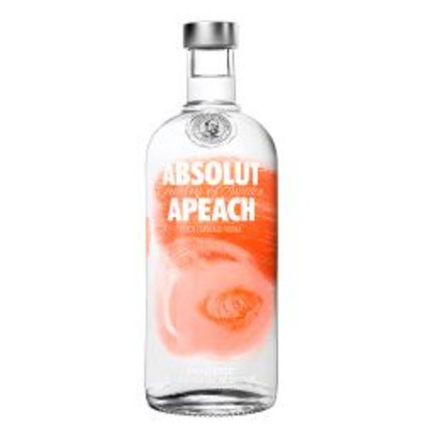 Oferta de Vodka Absolut Apeach por $1679