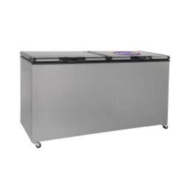 Oferta de Freezer Horizontal Inelro FIH550X Acero Inoxidable 520 Lts por $79999