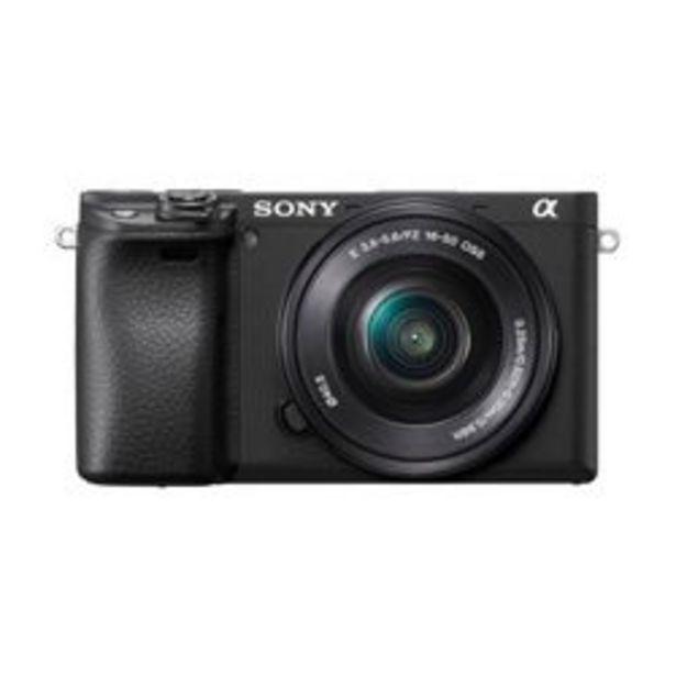 Oferta de Cámara Digital con Montura E y Sensor APS-C Sony a6400 por $112999