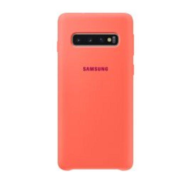 Oferta de Funda Samsung Silicone Cover S10 Pink por $699