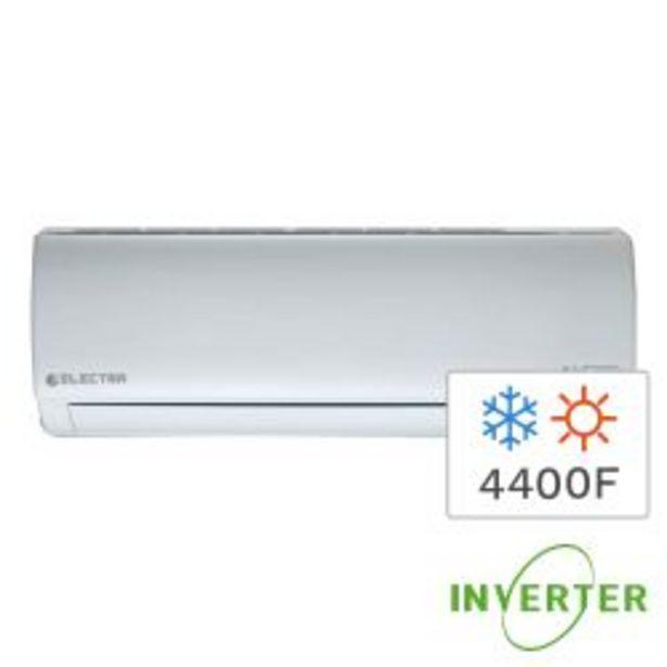 Oferta de Aire Acondicionado Inverter Split Frío Calor Electra Trend 4400F 5200W ETRDI52TC por $89999