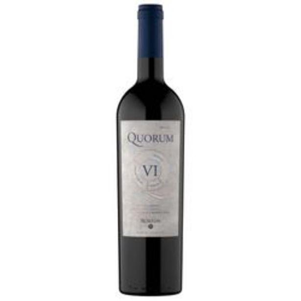 Oferta de Vino tinto Quorum VI por $6009