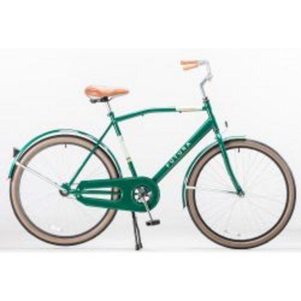 """Oferta de Bicicleta Rodado 26"""" Futura Countryman Verde por $29999"""