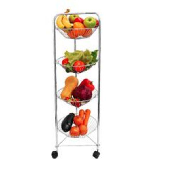Oferta de Organizador de frutas y verduras vertical (plateado) por $1799