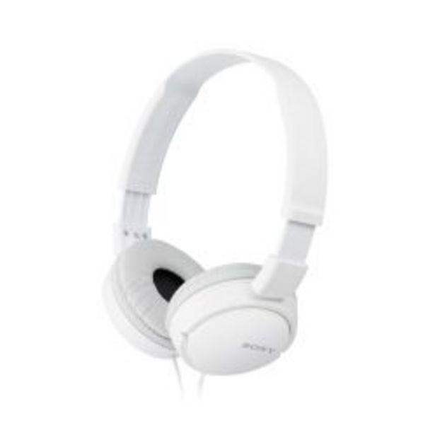Oferta de Auriculares Vincha Sony MDRZX110WCUC por $2399