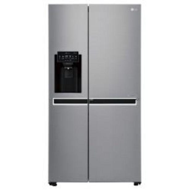 Oferta de Heladera Side by Side No Frost LG LS65SDP1 601 Lt por $649999