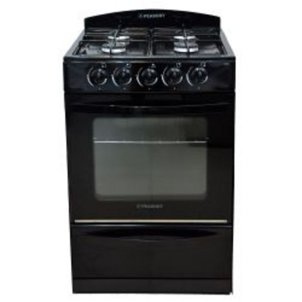 Oferta de Cocina Peabody Multigas 56cm Negro por $26999