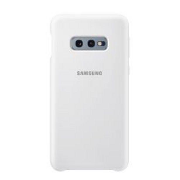 Oferta de Funda Samsung Silicone Cover S10e White por $699