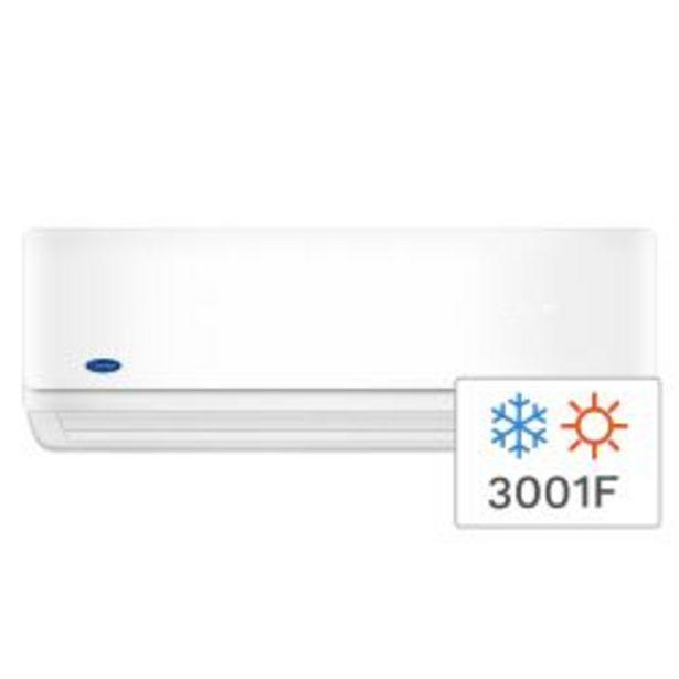 Oferta de Aire Acondicionado Split Frío/Calor Carrier 3001FC 3490W 53HFA1201E por $47999
