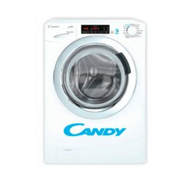 Oferta de Lavasecarropas Candy Carga Frontal 8Kg 6Kg 1200 RPM GVSW286 por $109999