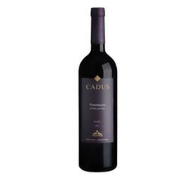 Oferta de Vino Tinto Cadus Appellation Tupungato Malbec x 6 por $3280,5