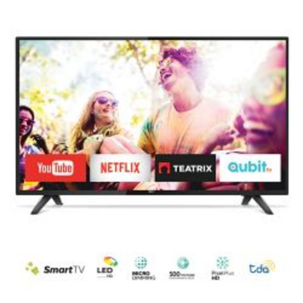 "Oferta de Smart TV 32"" HD Philips 32PHG5813/77 por $23999"