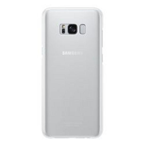 Oferta de Funda Samsung Clear Cover Galaxy S8+ Silver por $399