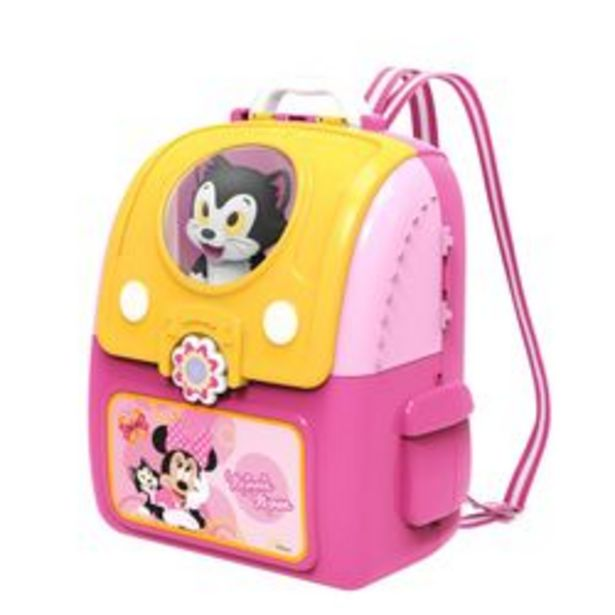 Oferta de Mochila Playset Minnie Veterinaria Disney por $4179
