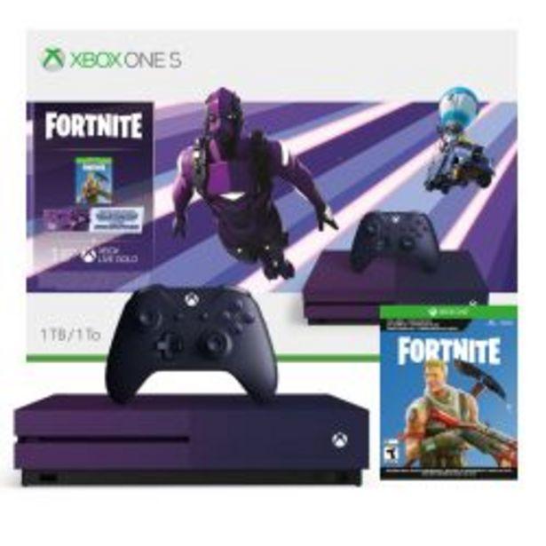 Oferta de Consola Xbox One S Microsoft 1 TB Fortnite Battle Royale Edición especial por $54999