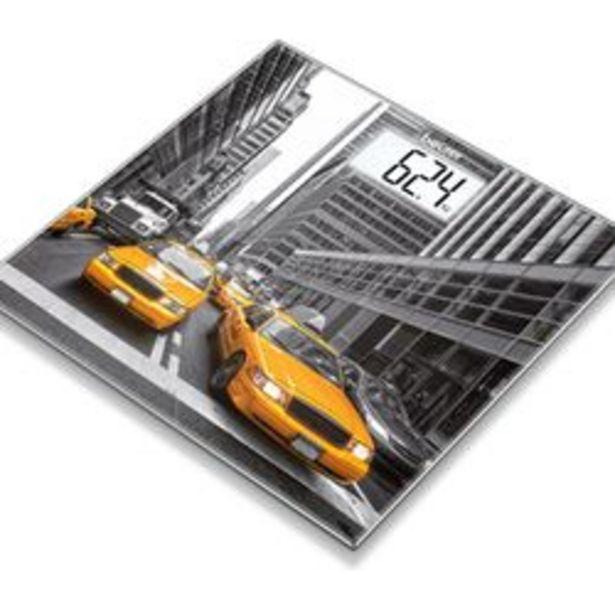 Oferta de Balanza Personal Digital de Vidrio Beurer Gs 203 Diseño New York por $5090
