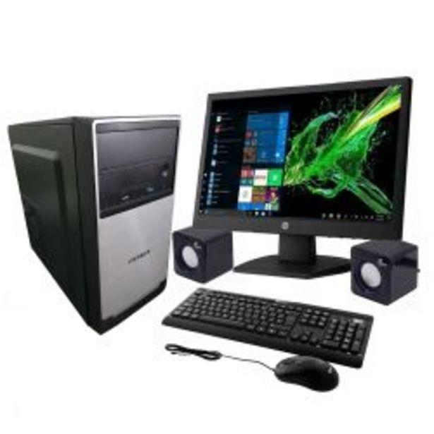 Oferta de PC + Monitor PCBOX AMD E1 6010 por $54999