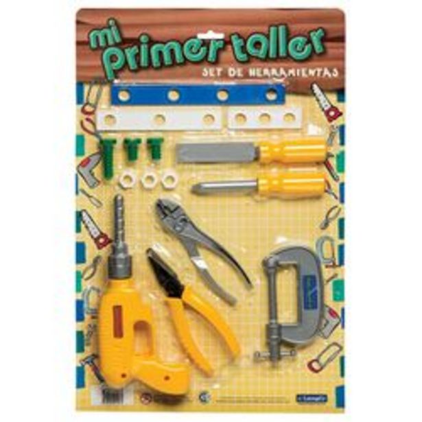 Oferta de Set de herramientas Mi primer taller 1156 por $799