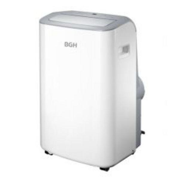 Oferta de Aire Acondicionado Portátil Frío/Calor BGH Silent Air 3500 Watts 3010F BP35WCAR-I por $43999