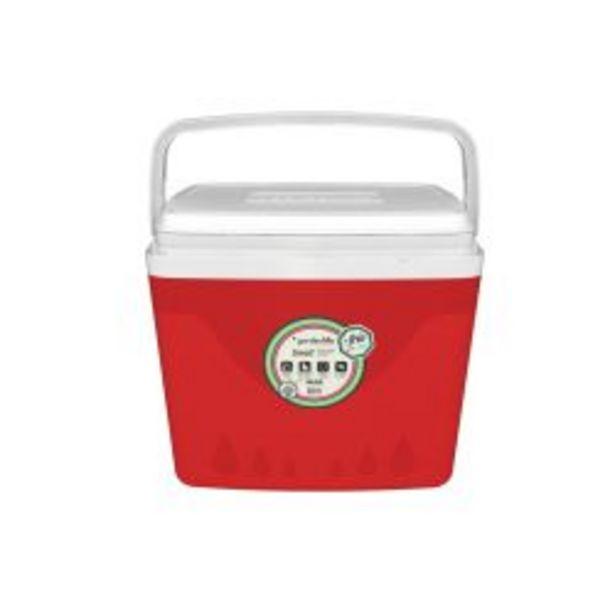 Oferta de Heladerita Conservadora de Plástico 34 litros Color Rojo por $3359
