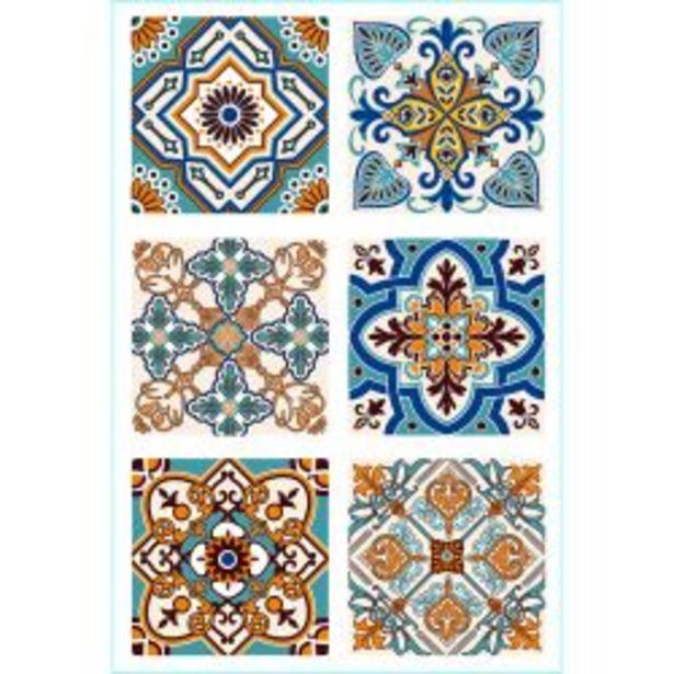 Oferta de Set de Azulejos Autoadhesivos Muresco 16461 15 cm por $1395