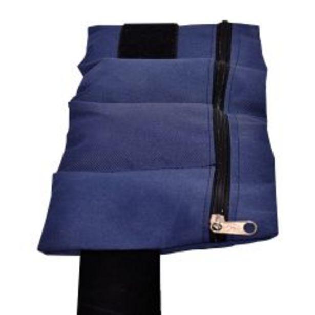 Oferta de Kit de tobilleras AllySport de 1 kg azul por $793