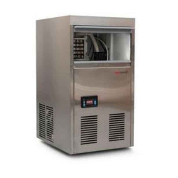 Oferta de Fabricadora de Hielo Comercial Turboblender 35kg 24hs Digital EI35 por $94599