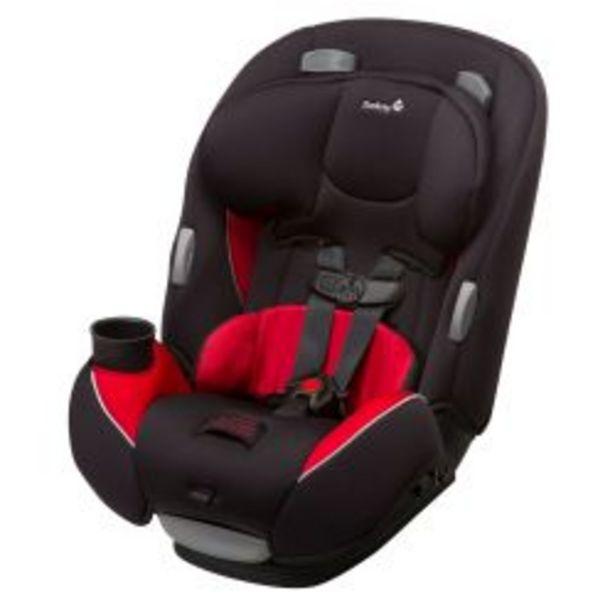 Oferta de Butaca Safety 1ST Continuum Negro y Rojo por $27999