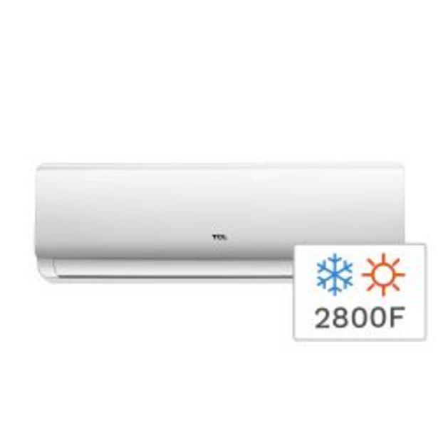 Oferta de Aire Acondicionado Split Frío/Calor TCL TACA-3300FCSA 2800F 3300W por $41999