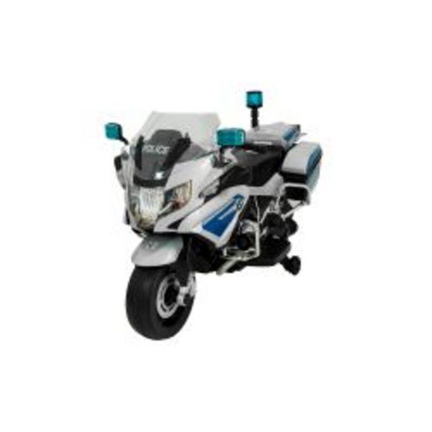 Oferta de Moto a Batería Bebitos BMW Polícia R1200 Plateada por $35599