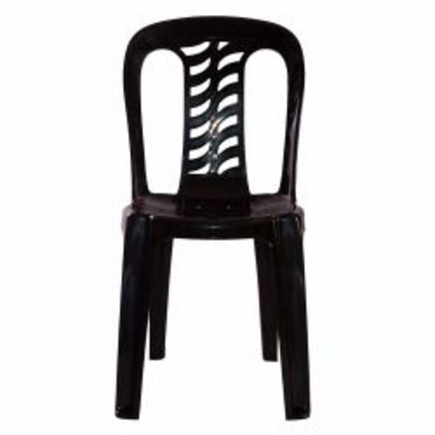 Oferta de Combo de Sillas de Plástico Bistró x 12 Color Negro por $16539