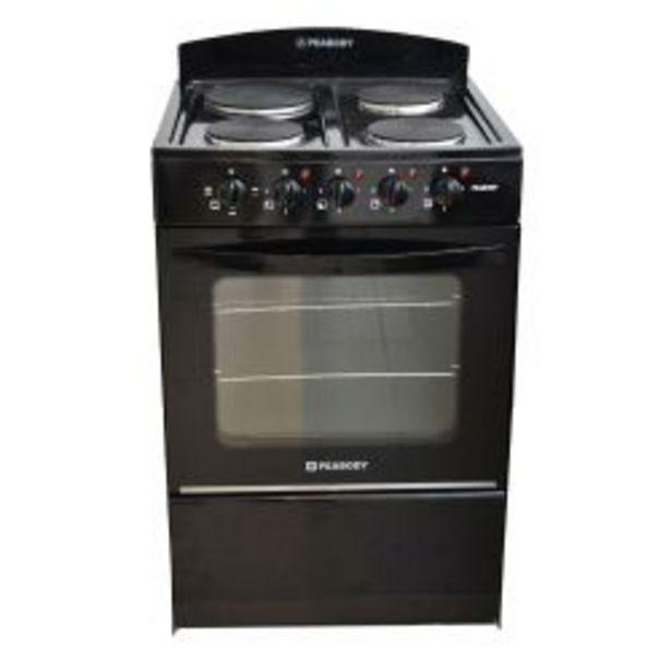 Oferta de Cocina Eléctrica Peabody Negra 56cm por $41999