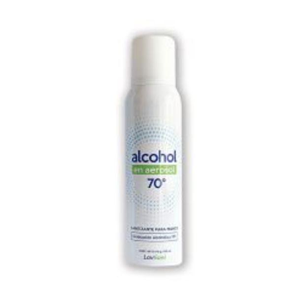 Oferta de Pack de 2 Unidades de Alcohol en Aerosol por 2 unidades al 70% por 150 ml Lovisani por $499