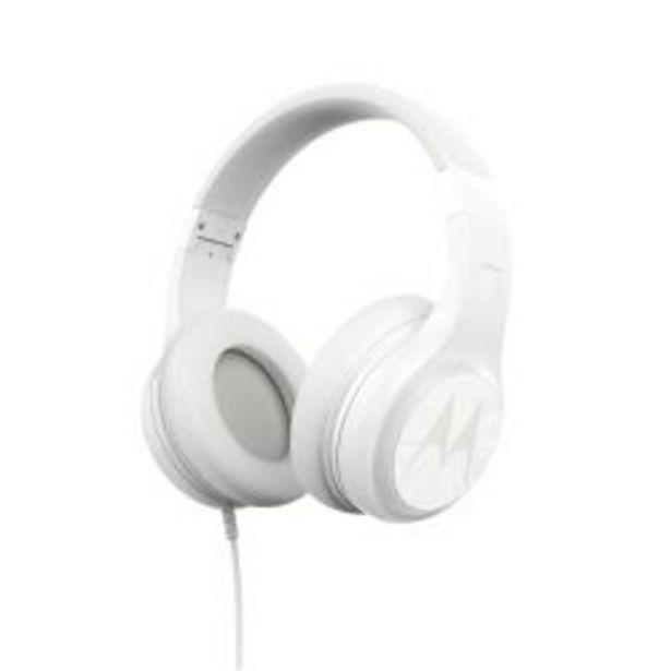 Oferta de Auriculares Vincha Motorola Pulse 120 Blancos por $2499