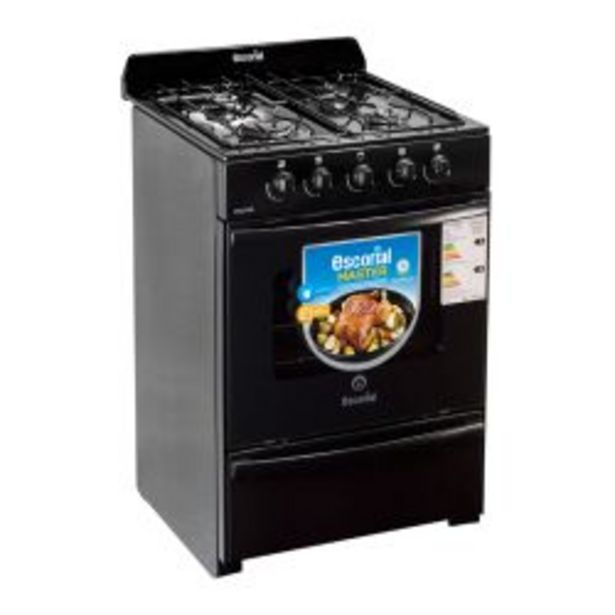 Oferta de Cocina Escorial Master 56CM Black por $21199