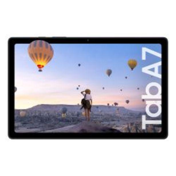 Oferta de Tablet Samsung A7 SM-T500 64GB 3GB Gris por $32999
