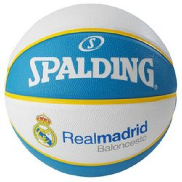 Oferta de Pelota de Basquet N7 Spalding Eurolegue Team Real Madrid por $2540
