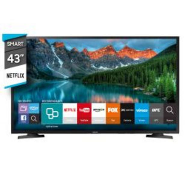 "Oferta de Smart TV 43"" Full HD Samsung UN43J5290AGCZB por $39999"