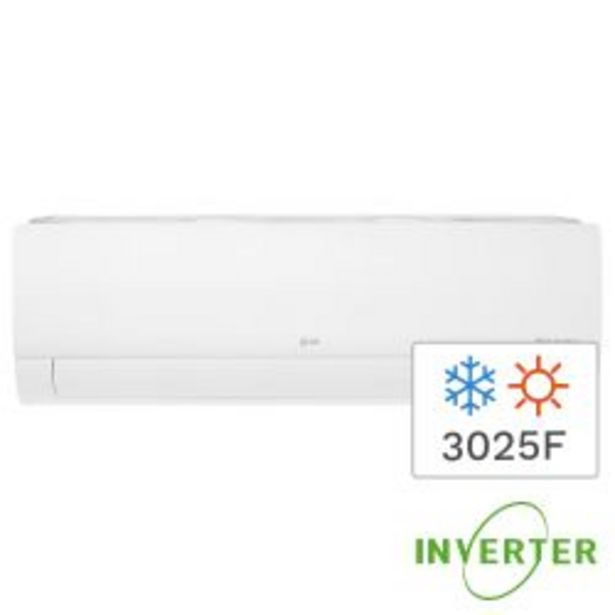 Oferta de Aire Acondicionado Split Frío/Calor LG Inverter 3025F 3517W S4-W12JA3AA por $69999
