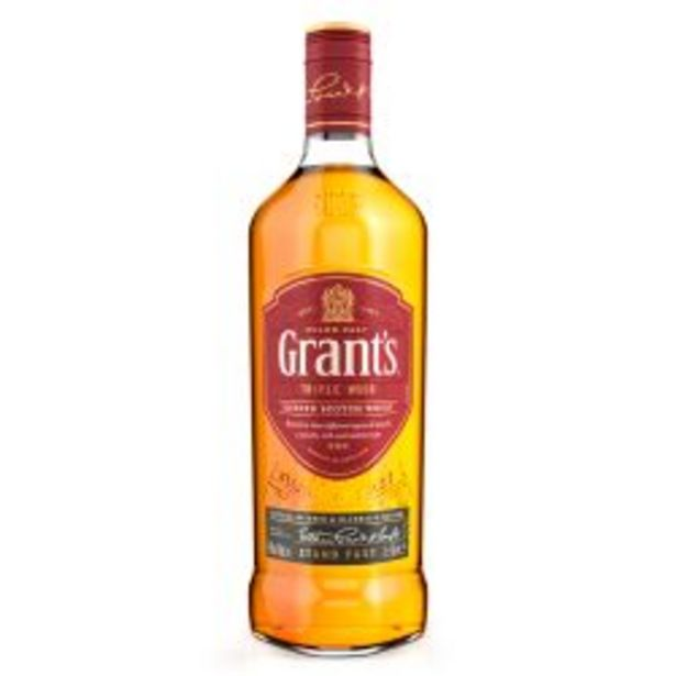 Oferta de Whisky Grants Family Reserve por $1989