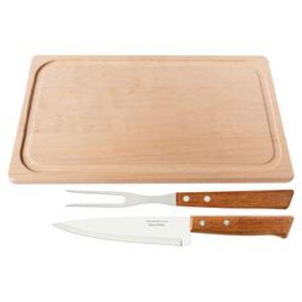 Oferta de Tabla y cuchilla y trinche Tramontina por $1429