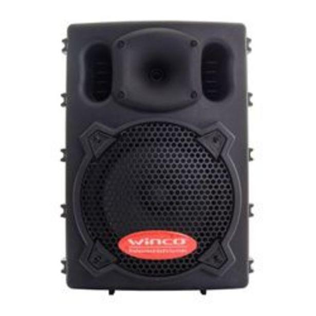 """Oferta de Parlante Winco W208USB 300W 8"""" Bluetooth por $19999"""