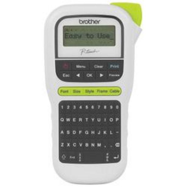 Oferta de Rotulador Brother PT-H110 Blanco por $4599